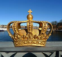 Swedish Royal Crown by Madeleine Forsberg