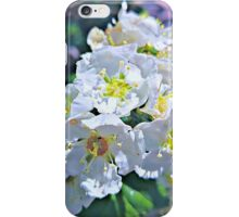 Beautiful White Flowers iPhone Case/Skin