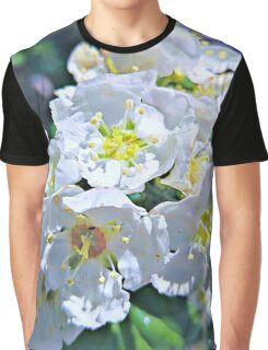 Beautiful White Flowers Graphic T-Shirt