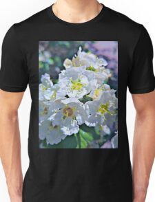 Beautiful White Flowers Unisex T-Shirt
