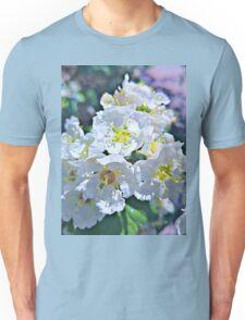 Beautiful White Flowers Unisex T-Shirt