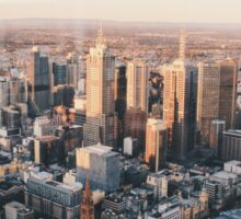Melbourne, Eureka Tower View Sticker