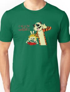 Calvin and Hobbes funny Unisex T-Shirt