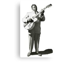 VINTAGE BB KING EARLY IMAGE Canvas Print