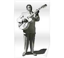 VINTAGE BB KING EARLY IMAGE Poster
