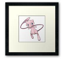 Pokemon - Mew Framed Print