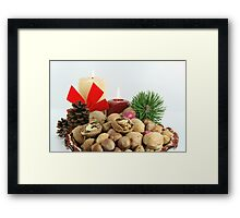 Happy Greeting Seasons - get your Good Luck 02, Framed Print