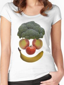Vegan Clown Women's Fitted Scoop T-Shirt