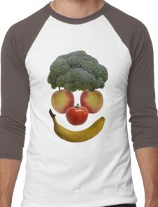 Vegan Clown Men's Baseball ¾ T-Shirt