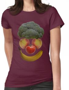 Vegan Clown Womens Fitted T-Shirt