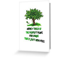 Kendrick Lamar Money tree Greeting Card