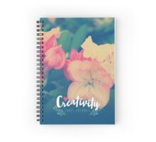 Creativity Takes Courage  Spiral Notebook