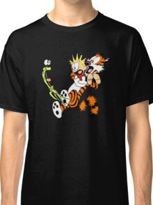 calvin and hobbes shocked Classic T-Shirt