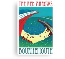 Red Arrows, Bournemouth Canvas Print