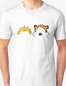 calvin and hobbes not face Unisex T-Shirt