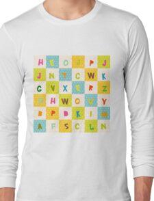 alphabet   Long Sleeve T-Shirt