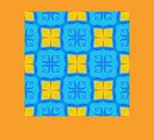 Yellow Blue DeepDream Pattern Unisex T-Shirt