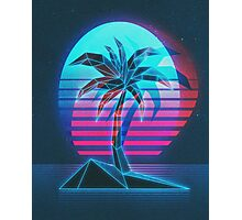 Palm Beach CRT Photographic Print