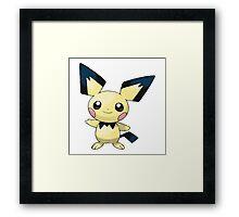 Pokemon - Pichu Framed Print