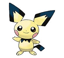 Pokemon - Pichu Photographic Print
