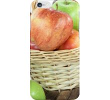Fall apples assorts close view. iPhone Case/Skin