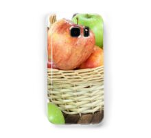 Fall apples assorts close view. Samsung Galaxy Case/Skin