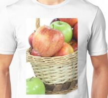 Fall apples assorts close view. Unisex T-Shirt
