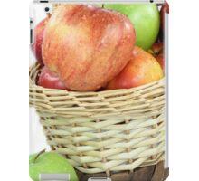 Fall apples assorts close view. iPad Case/Skin