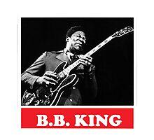 BB KING Photographic Print