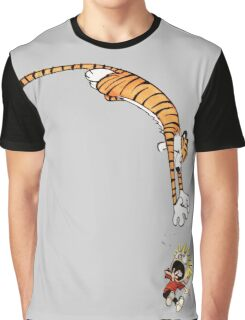 calvin and hobbes hungry Graphic T-Shirt