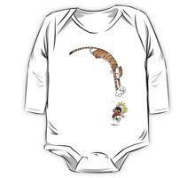 calvin and hobbes hungry One Piece - Long Sleeve