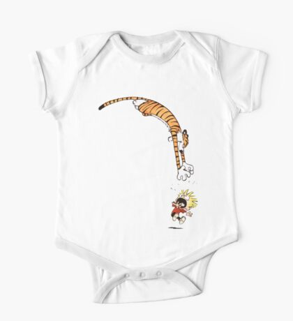 calvin and hobbes hungry One Piece - Short Sleeve