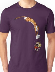 calvin and hobbes hungry Unisex T-Shirt