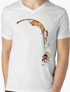 calvin and hobbes hungry Mens V-Neck T-Shirt