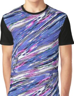 Abstract Collage Graphic T-Shirt