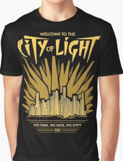 Welcome to the City of Light Graphic T-Shirt