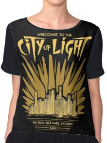 Welcome to the City of Light Chiffon Top