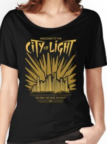 Welcome to the City of Light Women's Relaxed Fit T-Shirt