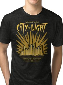 Welcome to the City of Light Tri-blend T-Shirt