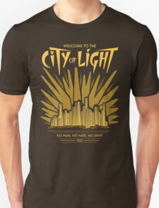 Welcome to the City of Light Unisex T-Shirt