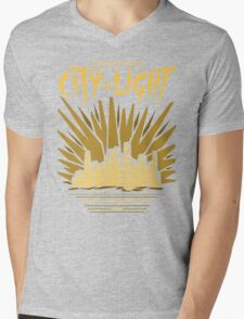 Welcome to the City of Light Mens V-Neck T-Shirt