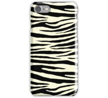 0381 Light Yellow Tiger iPhone Case/Skin