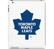 toronto maple leaf iPad Case/Skin