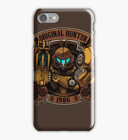 STEAM PUNK HUNTER  iPhone Case/Skin