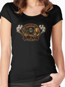 STEAM PUNK HUNTER  Women's Fitted Scoop T-Shirt