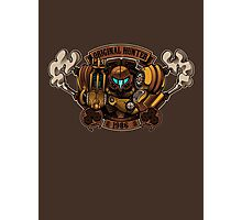 STEAM PUNK HUNTER  Photographic Print