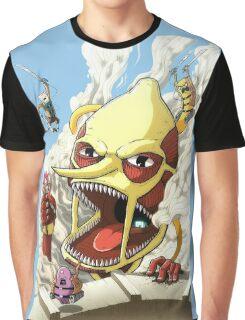 Attack on Lemongrab! Graphic T-Shirt
