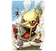 Attack on Lemongrab! Poster