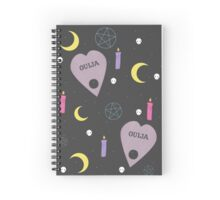 Don't mess with ouija boards. Spiral Notebook