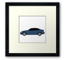 Subaru Legacy GT Framed Print